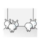無限増殖中の月から来たウサギ with ブタ(個別スタンプ:30)