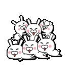 無限増殖中の月から来たウサギ with ブタ(個別スタンプ:32)