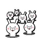 無限増殖中の月から来たウサギ with ブタ(個別スタンプ:34)