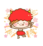 ほのぼのカノジョ 【☆☆たのしい春☆☆】(個別スタンプ:16)