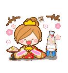 ほのぼのカノジョ 【☆☆たのしい春☆☆】(個別スタンプ:18)