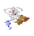 らぶクマ(個別スタンプ:36)