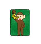 猿と申します(個別スタンプ:4)