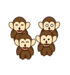 猿と申します(個別スタンプ:38)