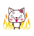 バレンタイン専用 白ネコちゃんの想い♥(個別スタンプ:38)