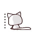 バレンタイン専用 白ネコちゃんの想い♥(個別スタンプ:39)