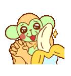 ゴリラ青男と猿緑男(個別スタンプ:2)