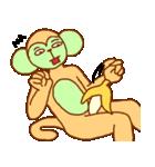 ゴリラ青男と猿緑男(個別スタンプ:20)