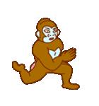 ゴリラ青男と猿緑男(個別スタンプ:33)