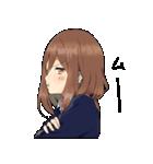 敬語カノジョ(個別スタンプ:09)