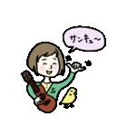 ウクレレさとちゃん(個別スタンプ:01)