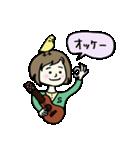 ウクレレさとちゃん(個別スタンプ:02)