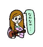 ウクレレさとちゃん(個別スタンプ:38)