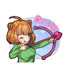 萌えスタ! バレンタイン編(個別スタンプ:6)