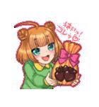 萌えスタ! バレンタイン編(個別スタンプ:27)