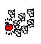 いっぱーーいのパンダ♪ many panda(個別スタンプ:18)