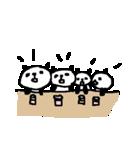 いっぱーーいのパンダ♪ many panda(個別スタンプ:28)