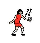 バレーボール大好きシンコちゃん(個別スタンプ:05)