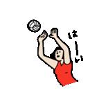 バレーボール大好きシンコちゃん(個別スタンプ:06)