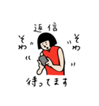 バレーボール大好きシンコちゃん(個別スタンプ:07)