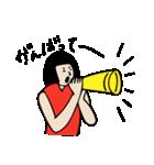 バレーボール大好きシンコちゃん(個別スタンプ:09)
