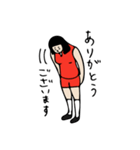 バレーボール大好きシンコちゃん(個別スタンプ:12)