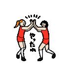 バレーボール大好きシンコちゃん(個別スタンプ:16)