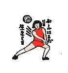 バレーボール大好きシンコちゃん(個別スタンプ:24)