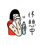 バレーボール大好きシンコちゃん(個別スタンプ:29)