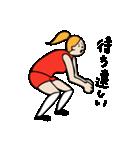 バレーボール大好きシンコちゃん(個別スタンプ:33)