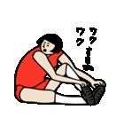 バレーボール大好きシンコちゃん(個別スタンプ:34)
