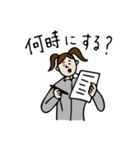 バレーボール大好きシンコちゃん(個別スタンプ:35)