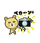 くまごろう with カメラ(個別スタンプ:1)