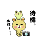 くまごろう with カメラ(個別スタンプ:12)