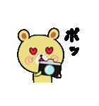 くまごろう with カメラ(個別スタンプ:29)