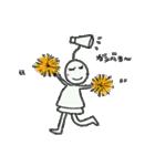 幸運の花こさん(個別スタンプ:12)