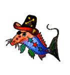カラフルお魚第2弾(個別スタンプ:1)
