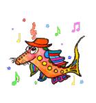 カラフルお魚第2弾(個別スタンプ:2)