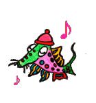 カラフルお魚第2弾(個別スタンプ:6)