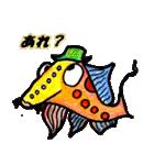 カラフルお魚第2弾(個別スタンプ:7)