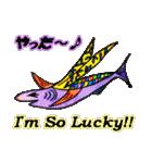 カラフルお魚第2弾(個別スタンプ:28)