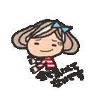 ボーダーガール@ゆるゆる敬語集(個別スタンプ:14)