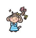 ボーダーガール@ゆるゆる敬語集(個別スタンプ:21)