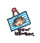 ボーダーガール@ゆるゆる敬語集(個別スタンプ:22)