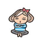 ボーダーガール@ゆるゆる敬語集(個別スタンプ:40)