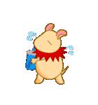 キャラメルランド ネズミ(赤)(個別スタンプ:17)