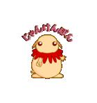 キャラメルランド ネズミ(赤)(個別スタンプ:21)