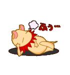 キャラメルランド ネズミ(赤)(個別スタンプ:23)