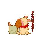 キャラメルランド ネズミ(赤)(個別スタンプ:36)