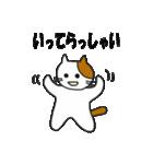 応援する猫 2016(個別スタンプ:05)